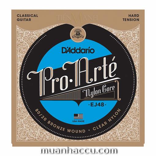 Dây Đàn Guitar Classic DAddario EJ48