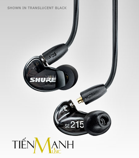 Tai nghe Shure SE215 K/CL