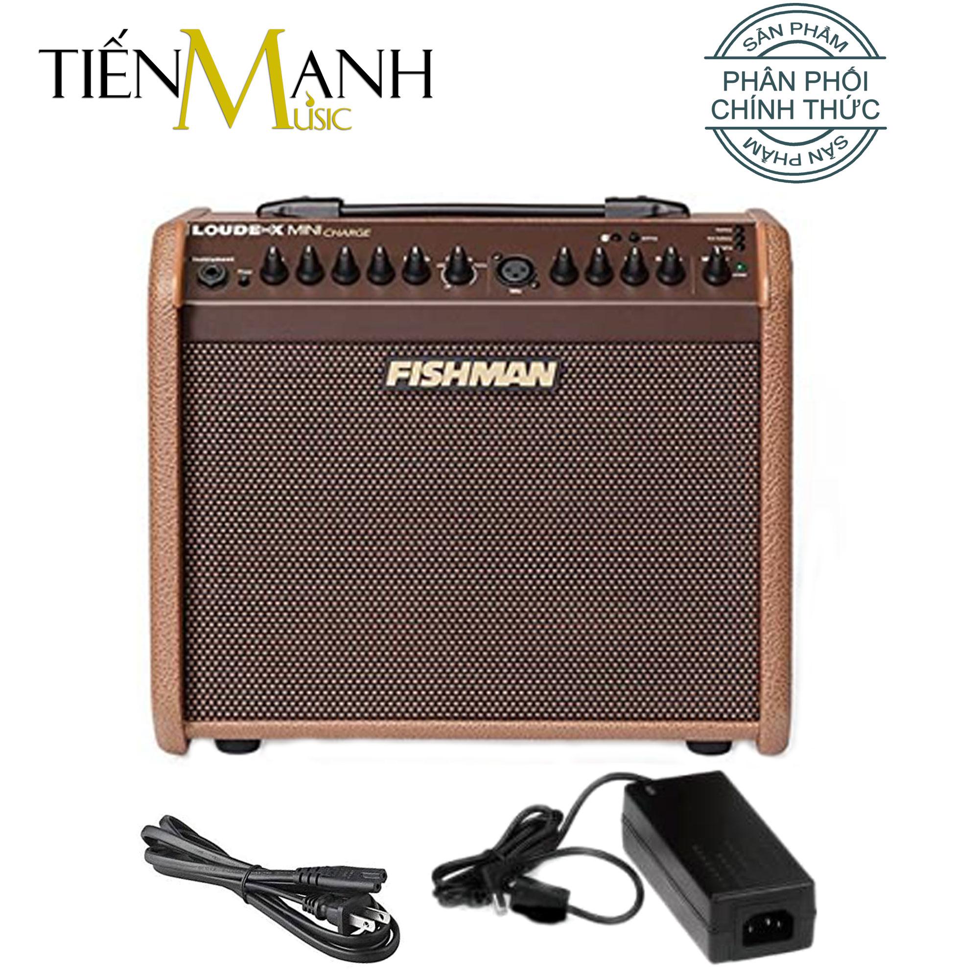 Fishman Loudbox Mini Charge 60W (Pin Sạc, Bluetooth) Battery Powered - Ampli cho Đàn Guitar Và Nhạc cụ mộc Acoustic