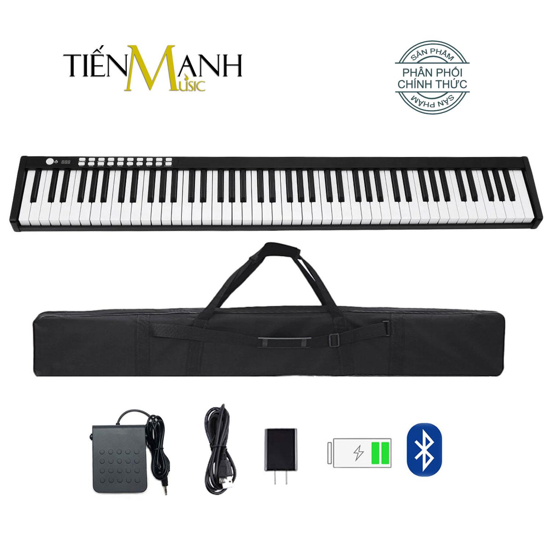 Đàn Piano Điện Bora BX1A - 88 Phím nặng Cảm ứng lực Midi Keyboard Controllers BX-1A - Chính Hãng