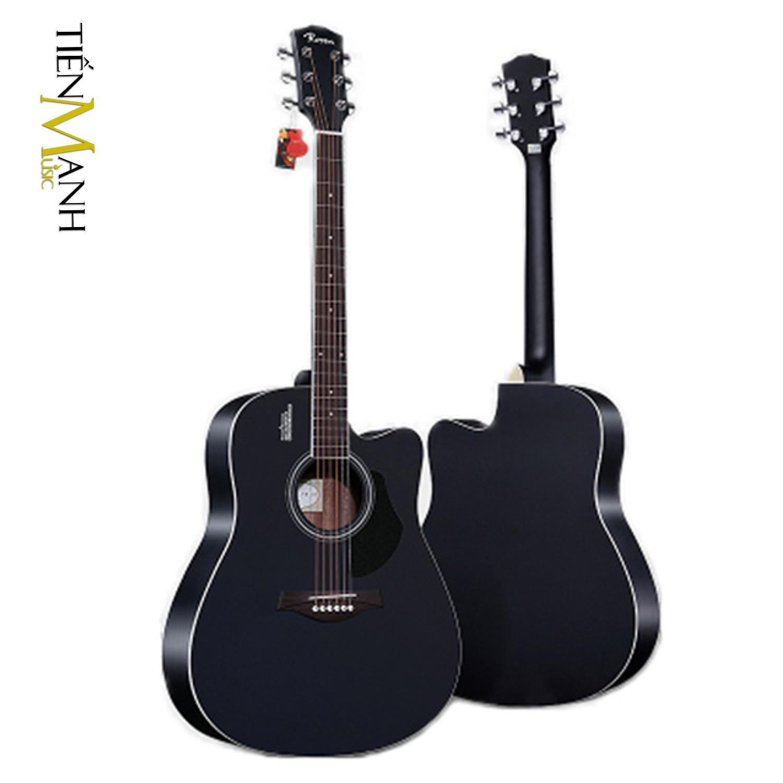 Đàn Guitar Acoustic Rosen G11 Màu Đen Dáng D (Size 41)