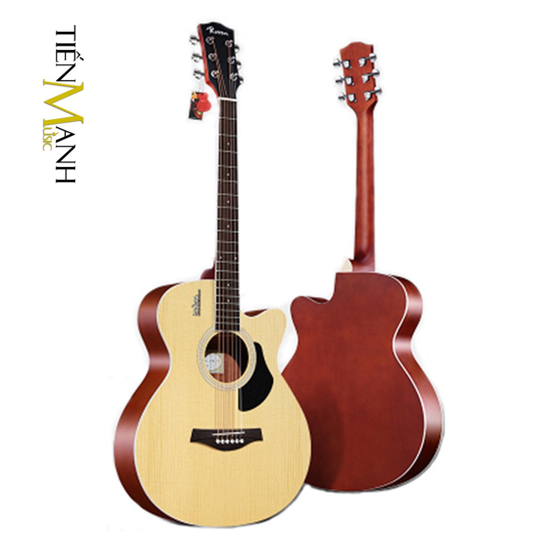 Đàn Guitar Acoustic Rosen G11 Màu Gỗ Dáng A (Size 40)