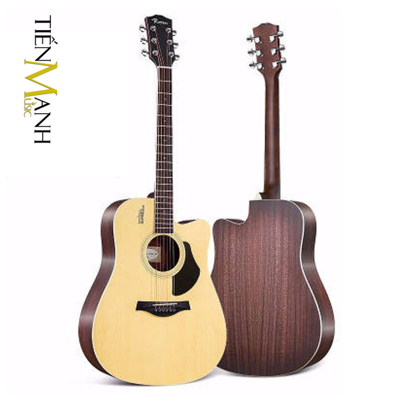 Đàn Guitar Acoustic Rosen G13 Màu Gỗ Dáng D (Size 41)