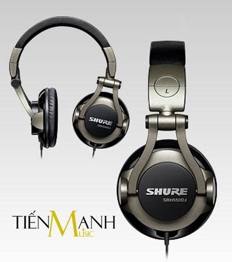 Tai nghe Headphone Shure SRH550DJ
