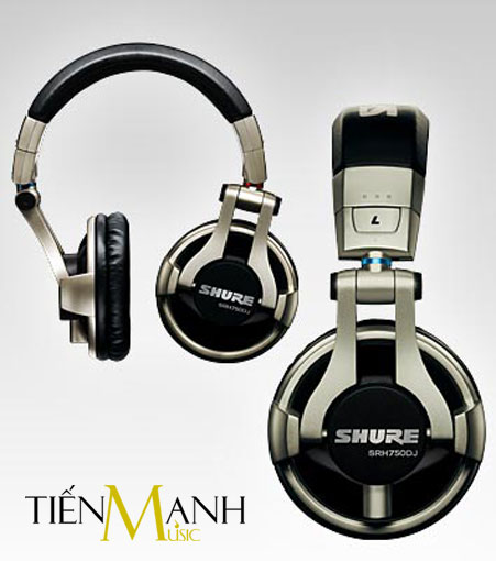 Tai nghe Headphone Shure SRH750DJ