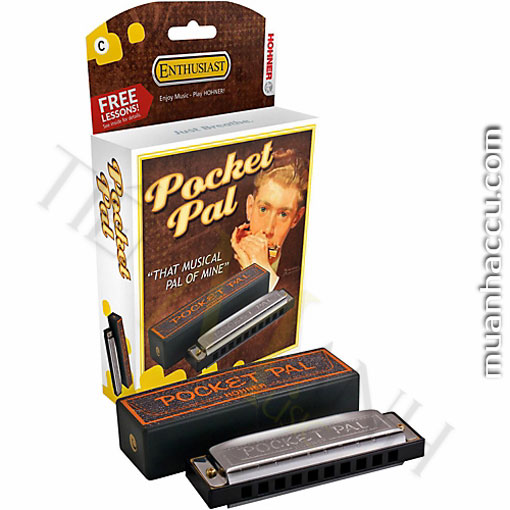 Kèn Harmonica Hohner Pocket Pal 10 lỗ
