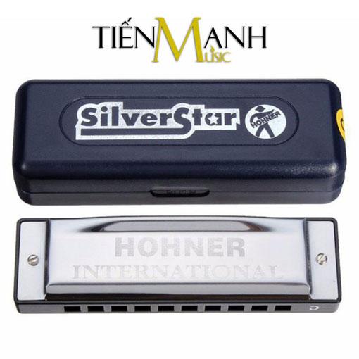 Kèn Harmonica Hohner Silver Star 10 lỗ