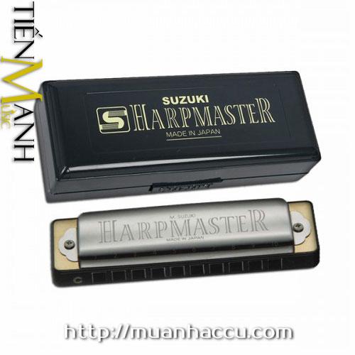 Suzuki HarpMaster Harmonica MR-200