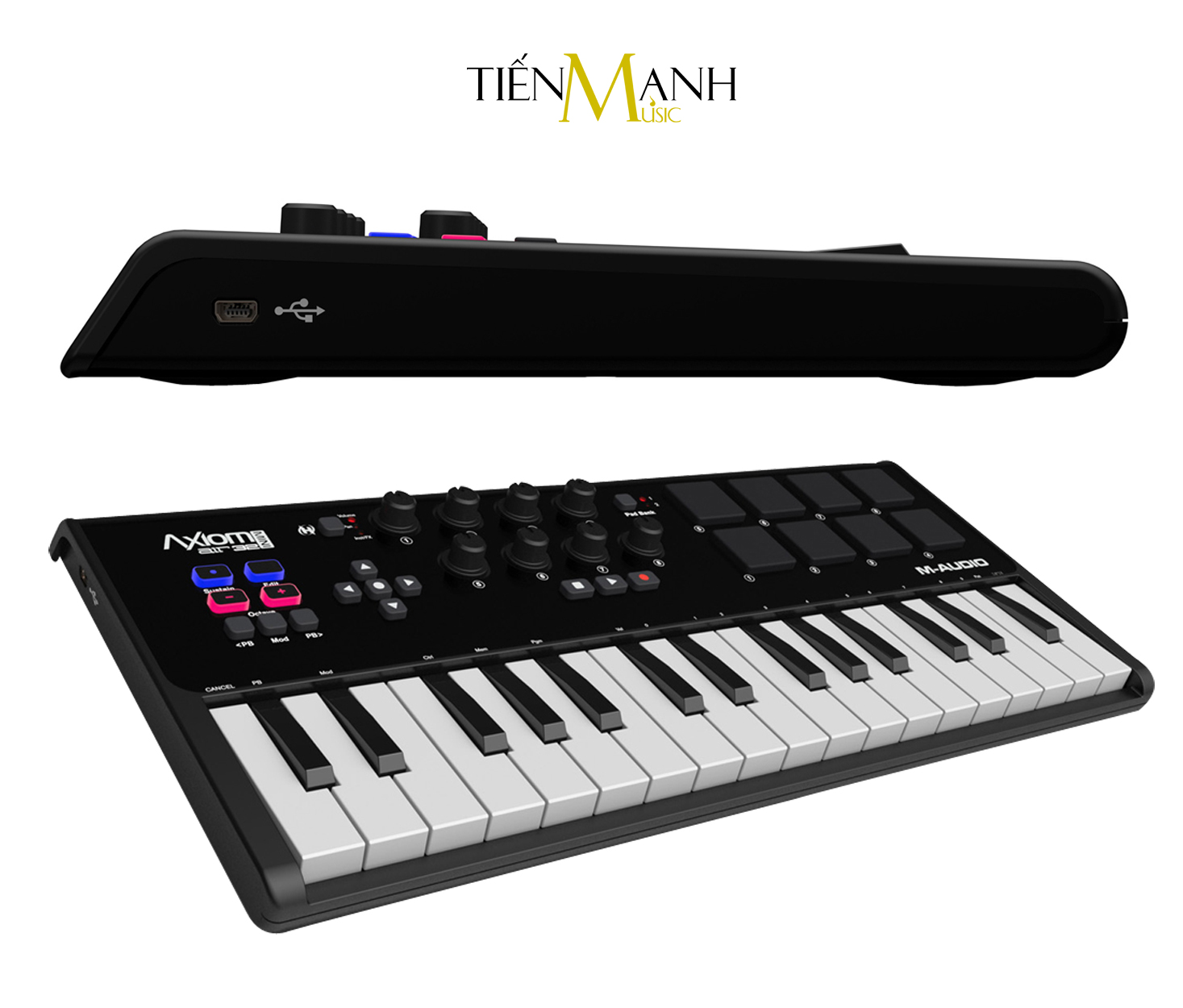 M-Audio Axiom Air Mini 32 Key MIDI Keyboard