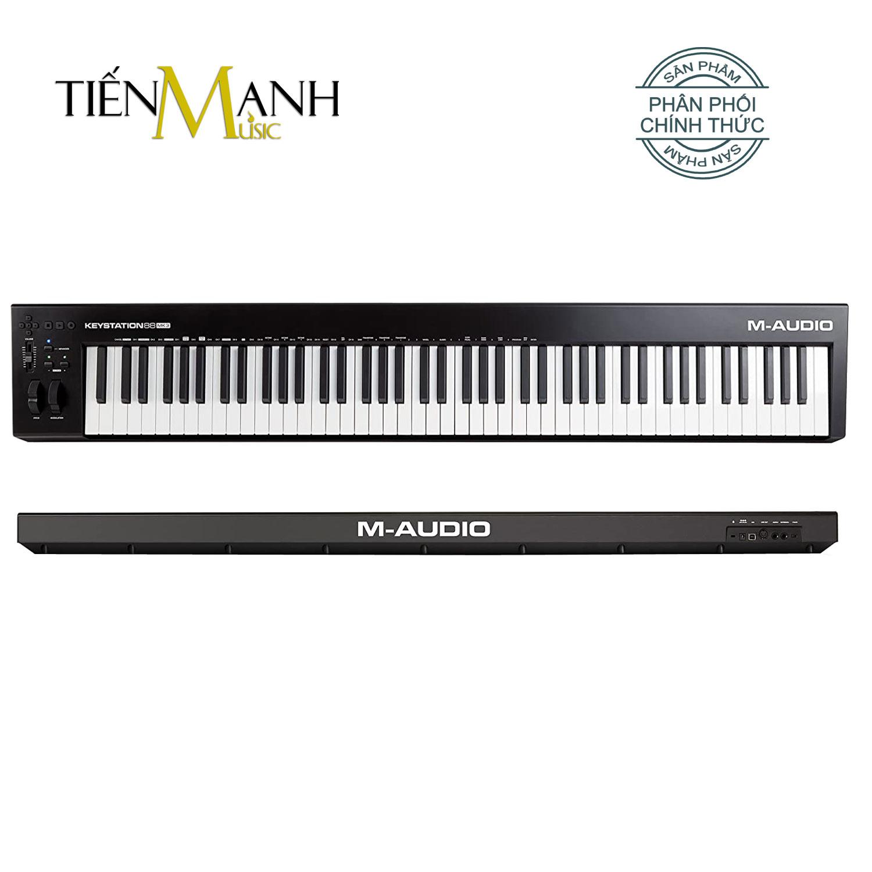 M-Audio Keystation 88 Phím MK3 MIDI Keyboard Controller MKIII MAudio Bàn phím sáng tác - Sản xuất âm nhạc Producer