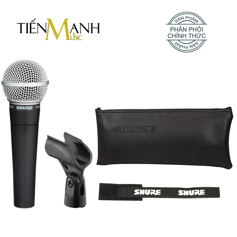 Mic Cầm Tay Shure SM58-LC Micro Phòng Thu Studio Microphone Karaoke - Chính Hãng USA