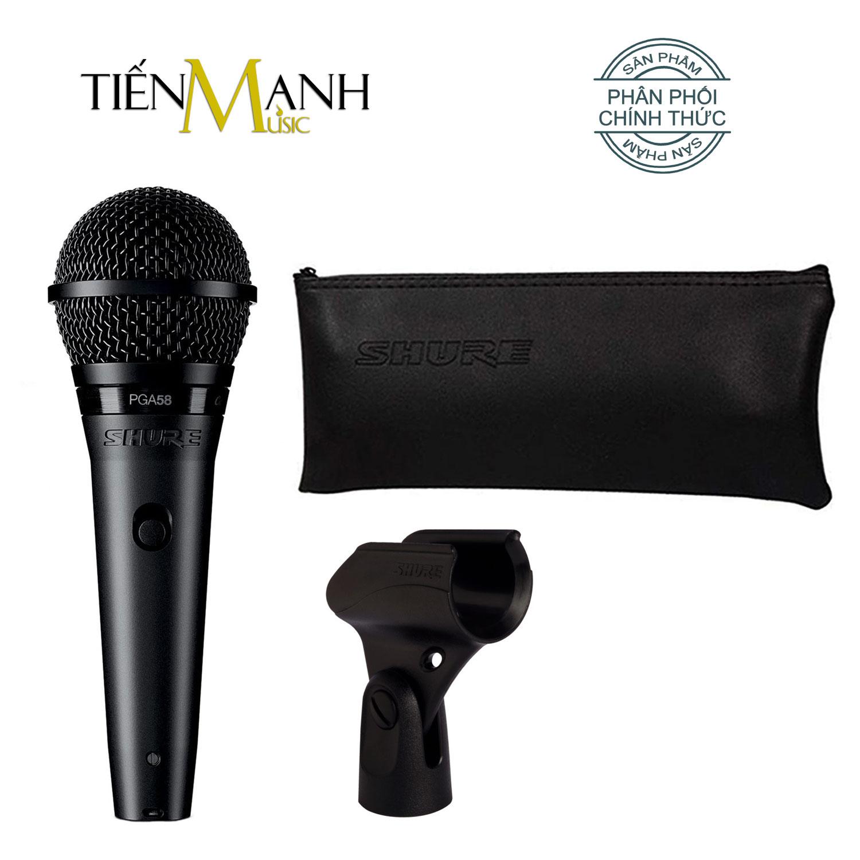 Mic Shure PGA58-LC Micro Cầm Tay Vocal Microphone Karaoke PGA58 - Chính Hãng USA