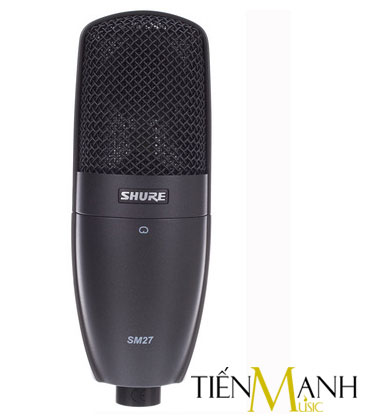 Micro cho thu âm Shure SM27-LC