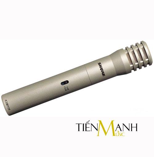 Micro condenser cho nhạc cụ Shure KMS109