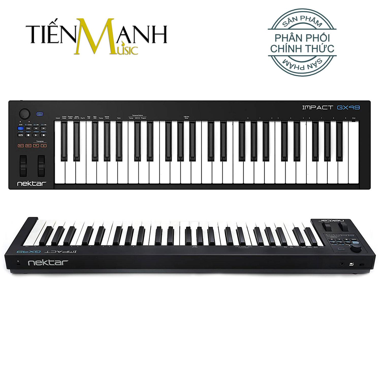 Nektar Impact GX49 Midi Keyboard Controller 49 Phím Cảm ứng lực (Đàn soạn làm nhạc - Sản xuất âm nhạc Producer)
