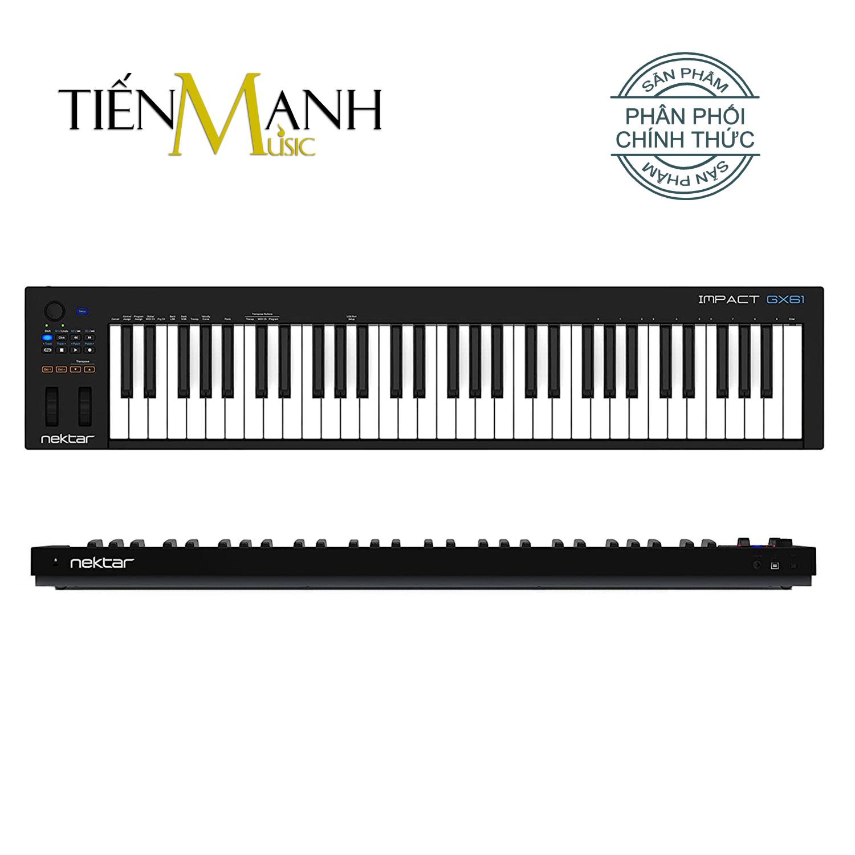 Nektar Impact GX61 Midi Keyboard Controller 61 Phím Cảm ứng lực (Đàn soạn làm nhạc - Sản xuất âm nhạc Producer)