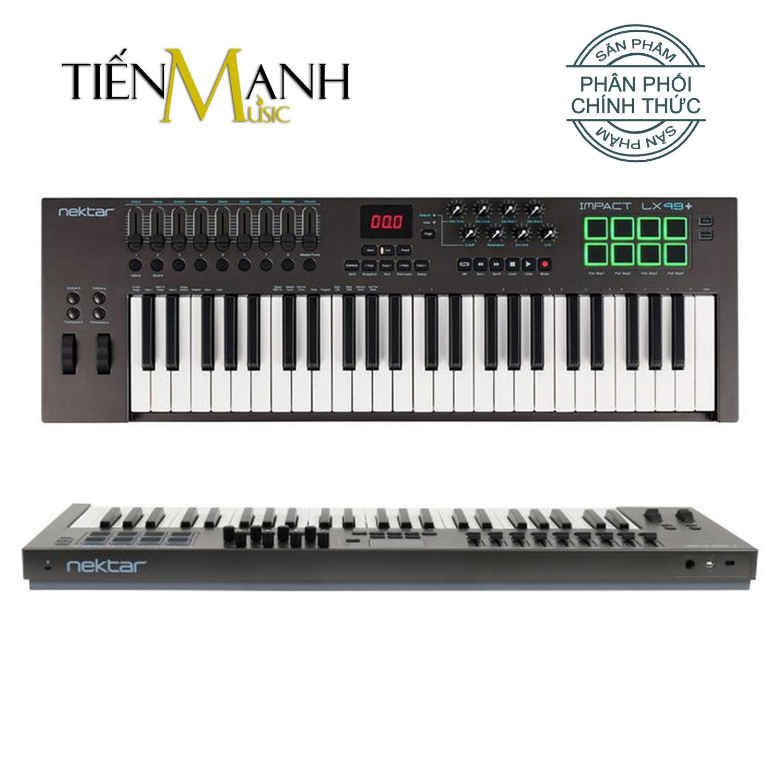 Nektar Impact LX49 Midi Keyboard Controller 49 Phím Cảm ứng lực (Đàn soạn làm nhạc - Sản xuất âm nhạc Producer)
