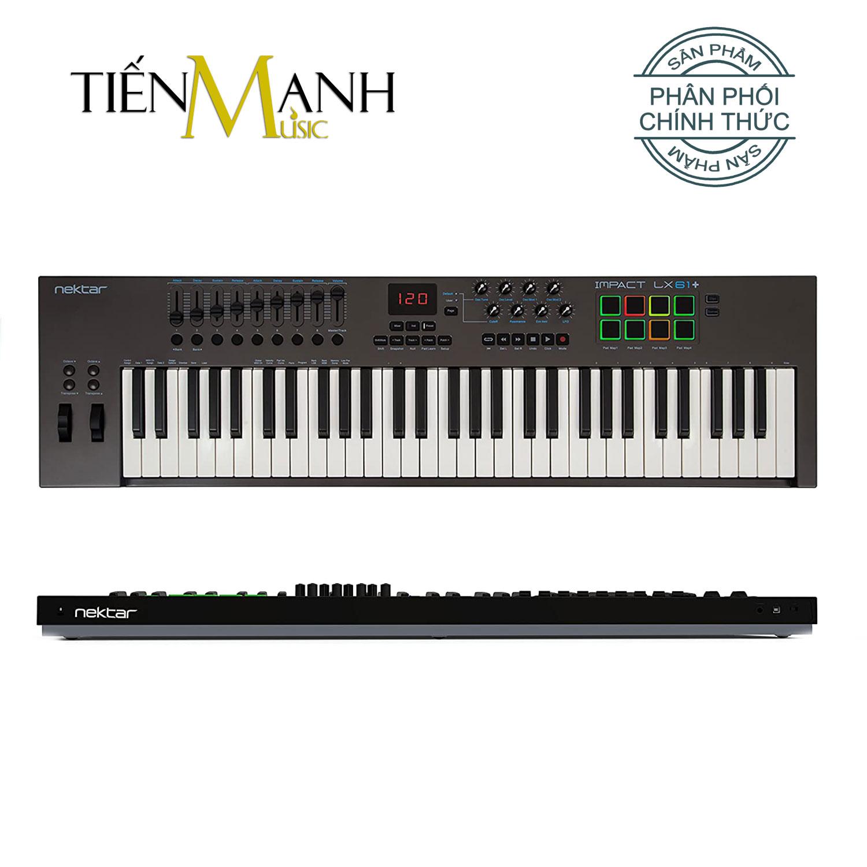 Nektar Impact LX61 Midi Keyboard Controller 61 Phím Cảm ứng lực (Đàn soạn làm nhạc - Sản xuất âm nhạc Producer)