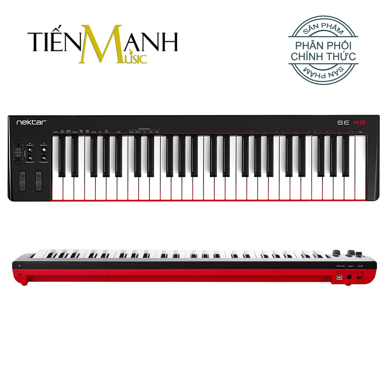 Nektar SE49 Midi Keyboard Controller 49 Phím Cảm ứng lực (Đàn soạn làm nhạc - Sản xuất âm nhạc Producer)