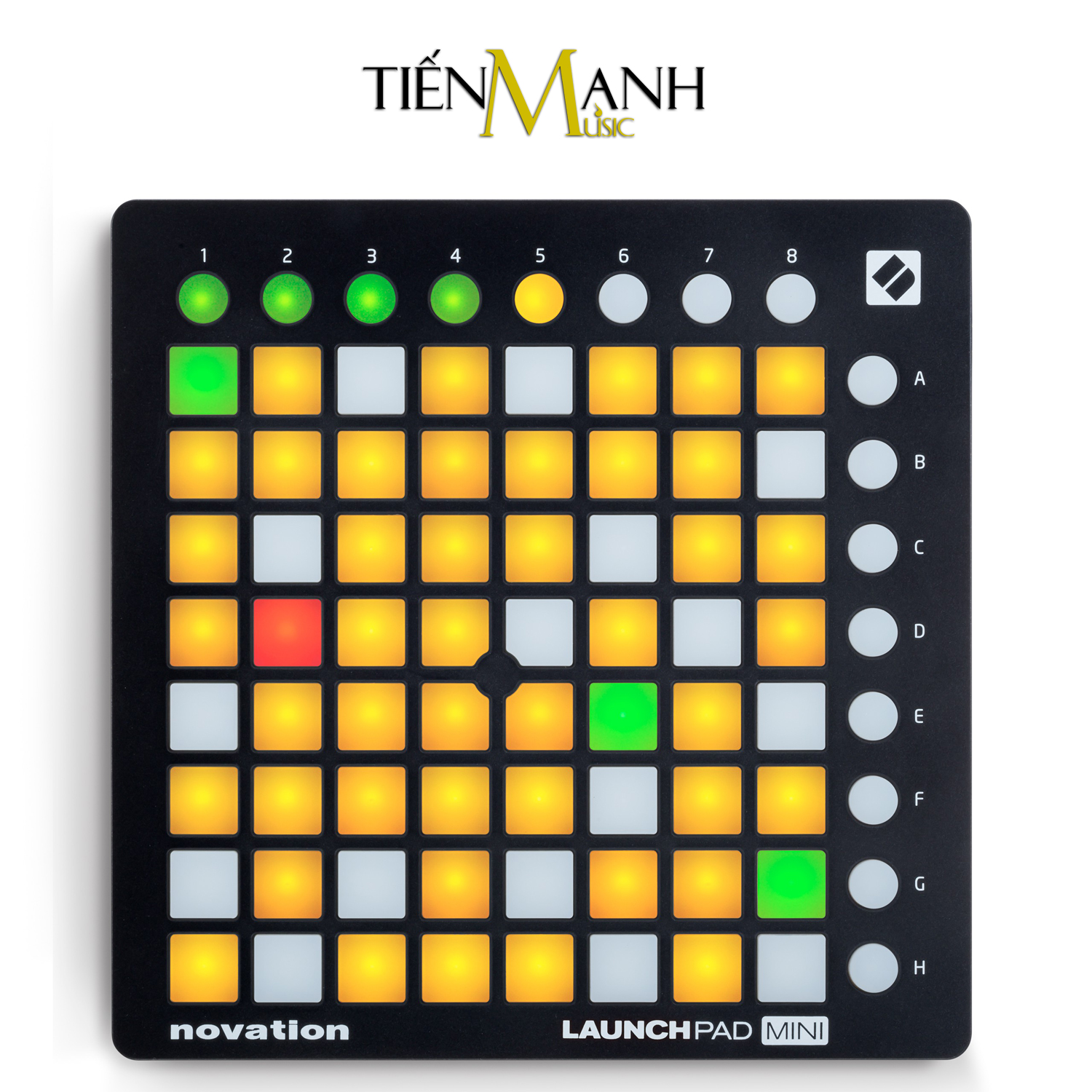 Novation Launchpad Mini MK2 - Compact USB Grid Controller for Ableton Live (Kèm Key Ableton Live)