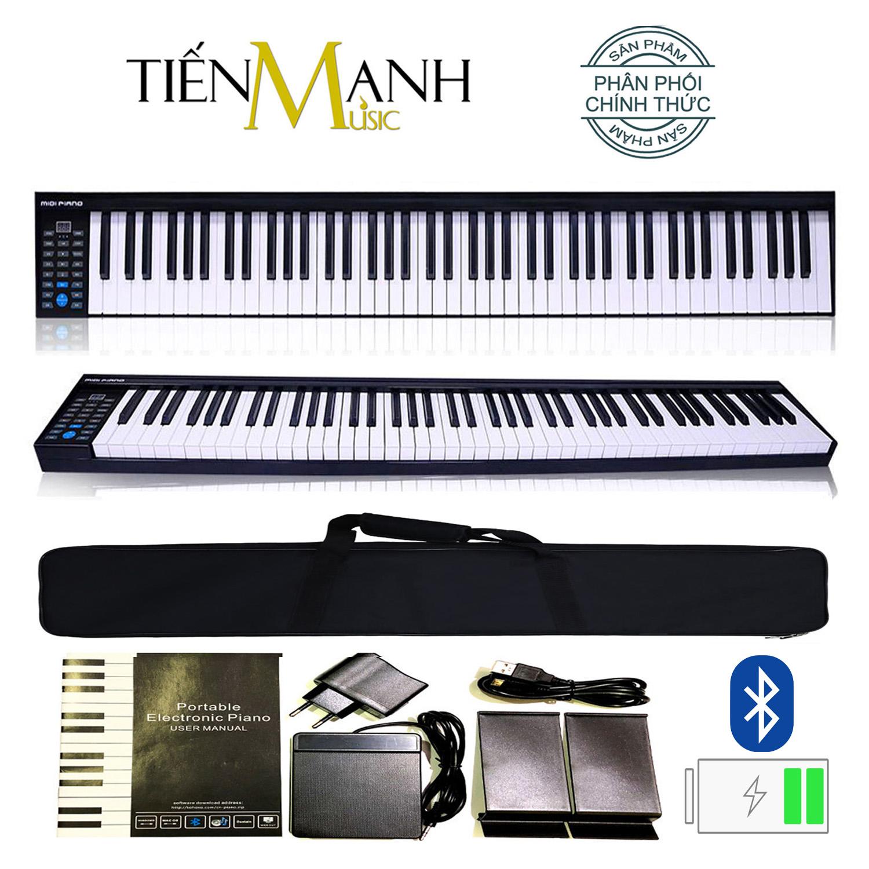 Đàn Piano Điện Konix 88 Phím nặng Cảm ứng lực PH88 - Touch response sensitive keyboard