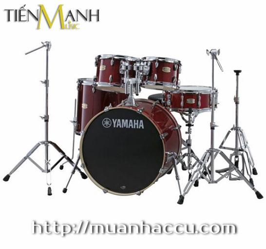 Trống Yamaha Drum STAGE CUSTOM SBP2F5 (Đỏ mận)