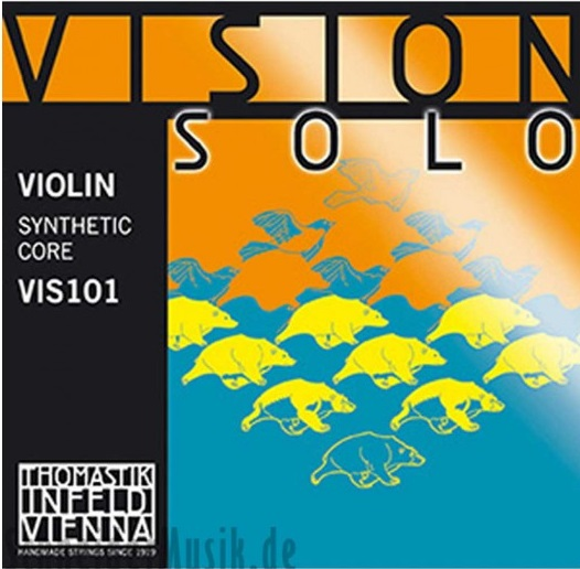 Violin Strings Thomastik-Infeld Vision Solo VIS101