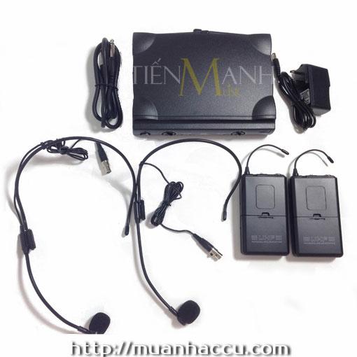 Bộ thu phát Microphone UHF TW6300/HE-71