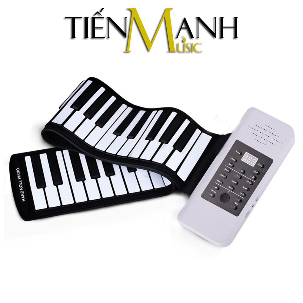 Đàn Piano 61 phím cuộn mềm dẻo Konix Flexible PC61 - Pin sạc 1000mAh