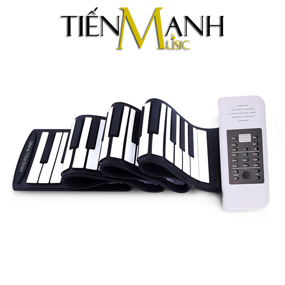 Đàn Piano 88 phím cuộn mềm dẻo Konix Flexible PC88 - Pin sạc 1000mAh
