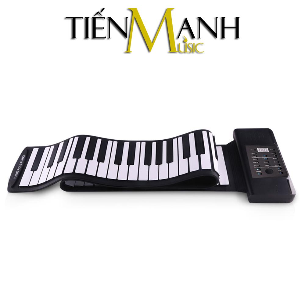 Đàn Piano 88 phím cuộn mềm dẻo Konix Flexible PD88 - Pin sạc 1000mAh