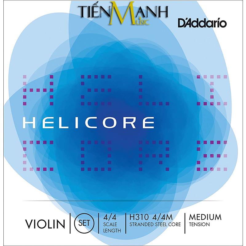 Dây Đàn Violin DAddario Medium Tension Helicore H310 4/4M