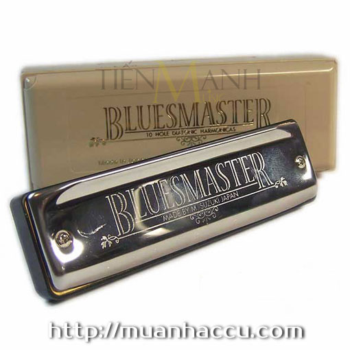 Suzuki Bluesmaster Harmonica - 10 lỗ