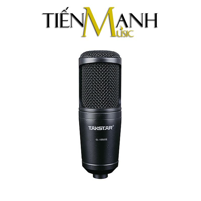 Micro cho thu âm Takstar GL-100USB