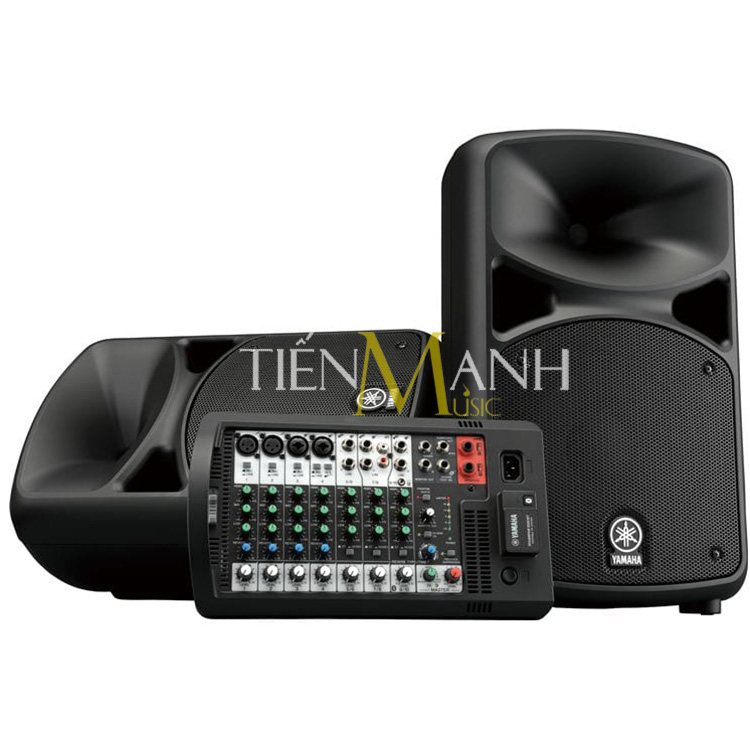 Bộ Loa và Ampli Yamaha STAGEPAS 600BT