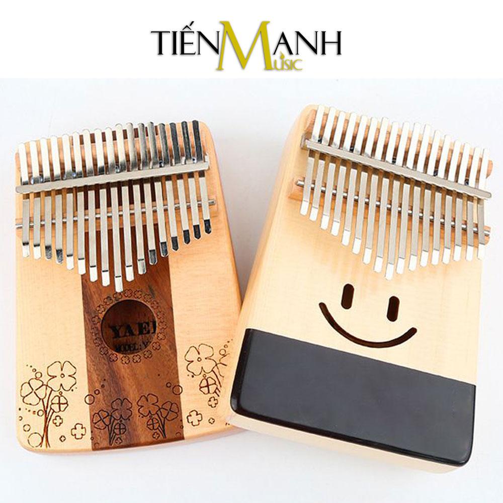 Đàn Kalimba Yael 17 Phím Gỗ Vân Sam - Rosewood Y17SMR-C (Cỏ ba lá - Mbira Thumb Finger Piano 17 Keys)