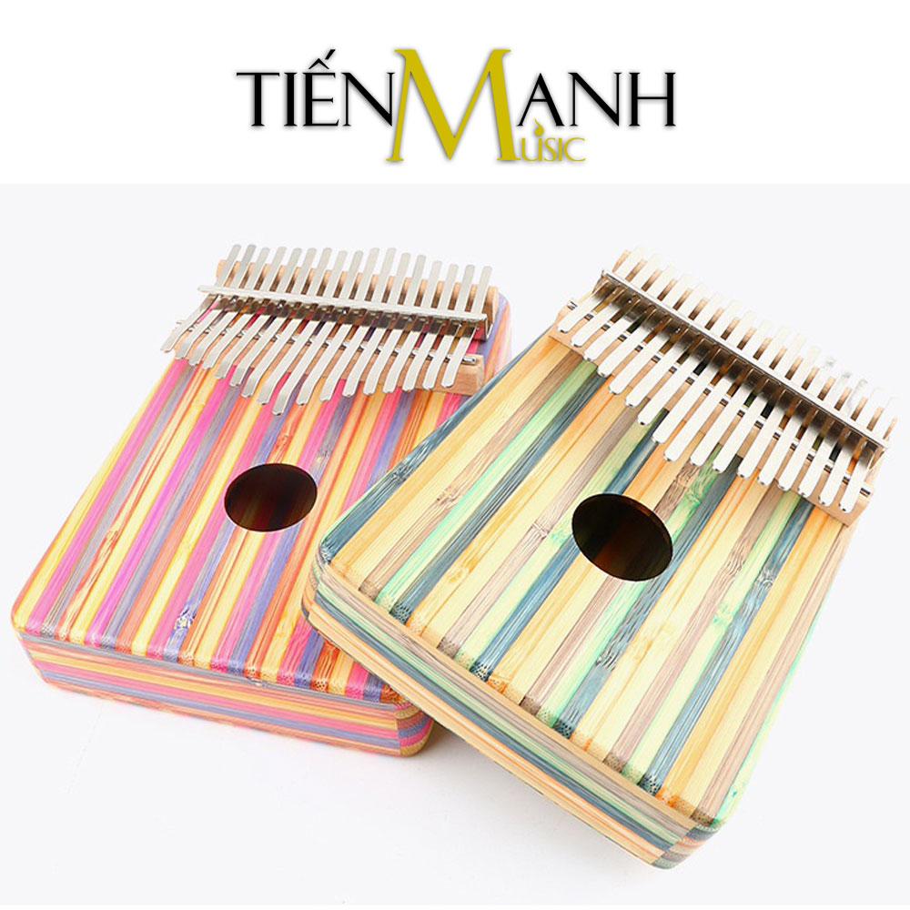 Đàn Kalimba Yael 17 Phím Gỗ Trúc Y17B-P (Hồng - Mbira Thumb Finger Piano 17 Keys)
