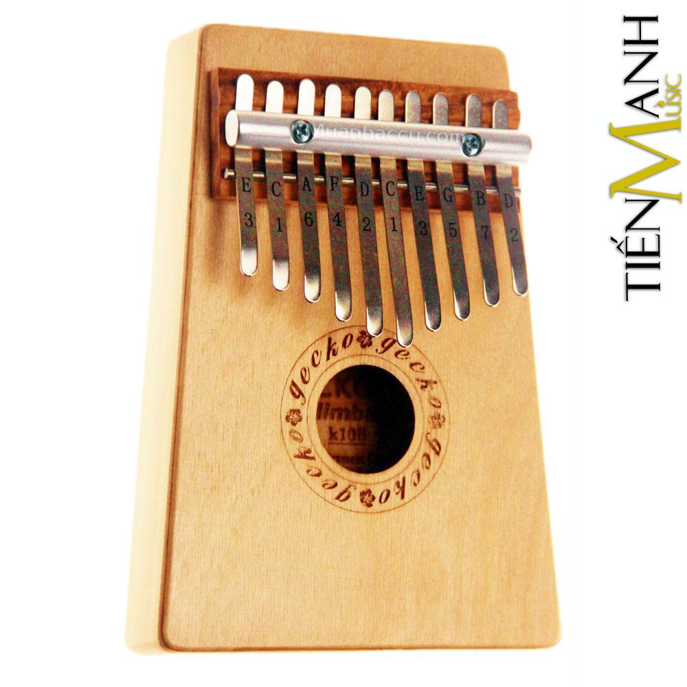Đàn Kalimba Gecko 10 Phím K10B (Gỗ Bạch Dương - Mbira Thumb Finger Piano 10 Keys)
