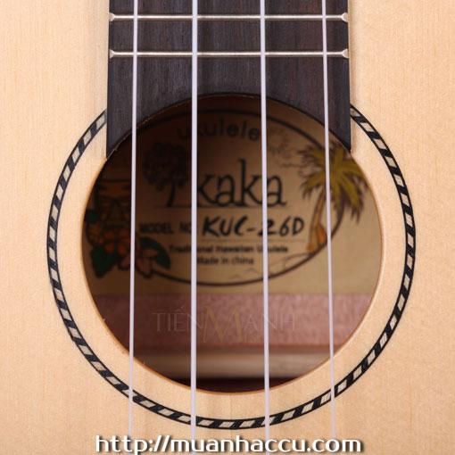 Đàn Ukulele Kaka Concert KUC-26D