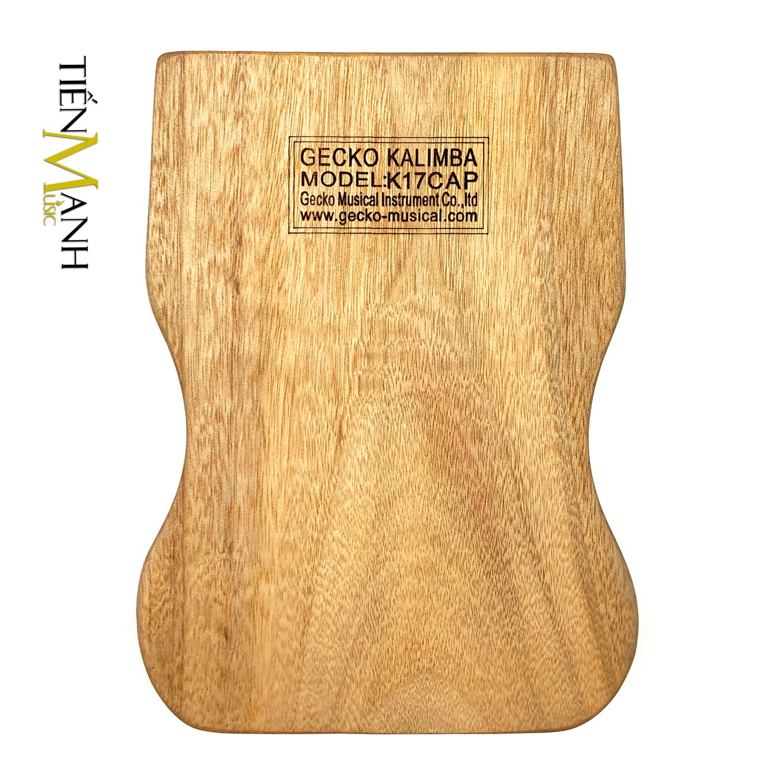 [Khắc Phím] Đàn Kalimba Gecko 17 Phím K17CAP - Tone C