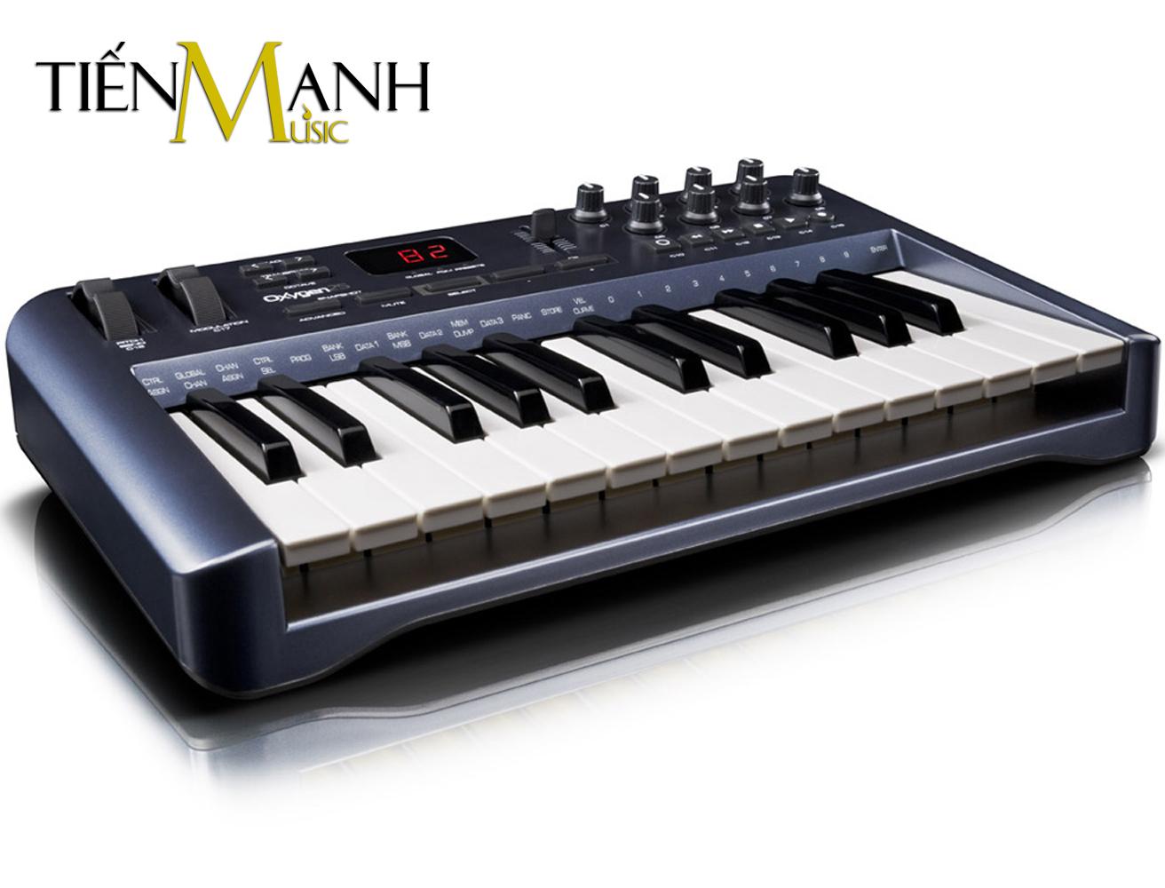 M-Audio Oxygen 25-Key USB MIDI Controller