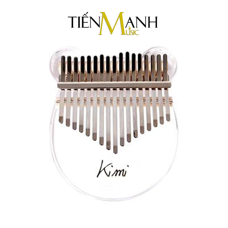 Đàn Kalimba Kimi M10 Hình Gấu - 17 Phím Acrylic Trong Suốt M-10