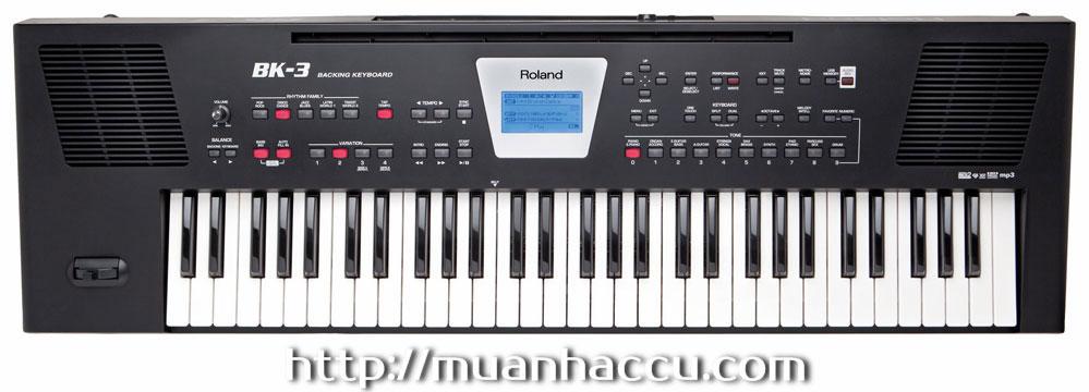 Đàn Organ Roland BK-3 (Touch Response Keyboard BK3 - Bàn Phím cảm ứng lực)