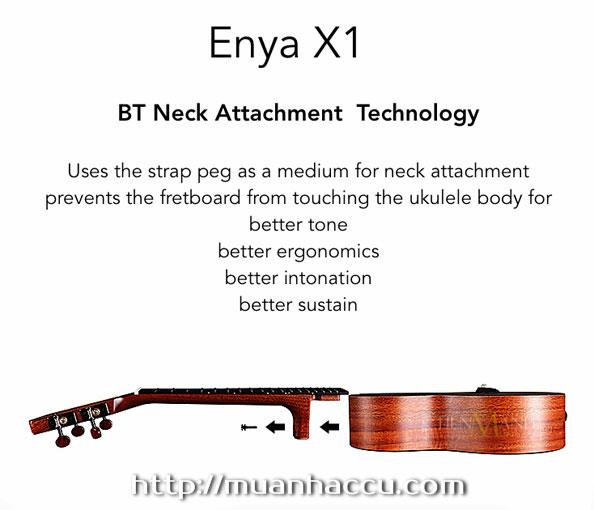 Đàn Ukulele Enya Concert EUC-X1