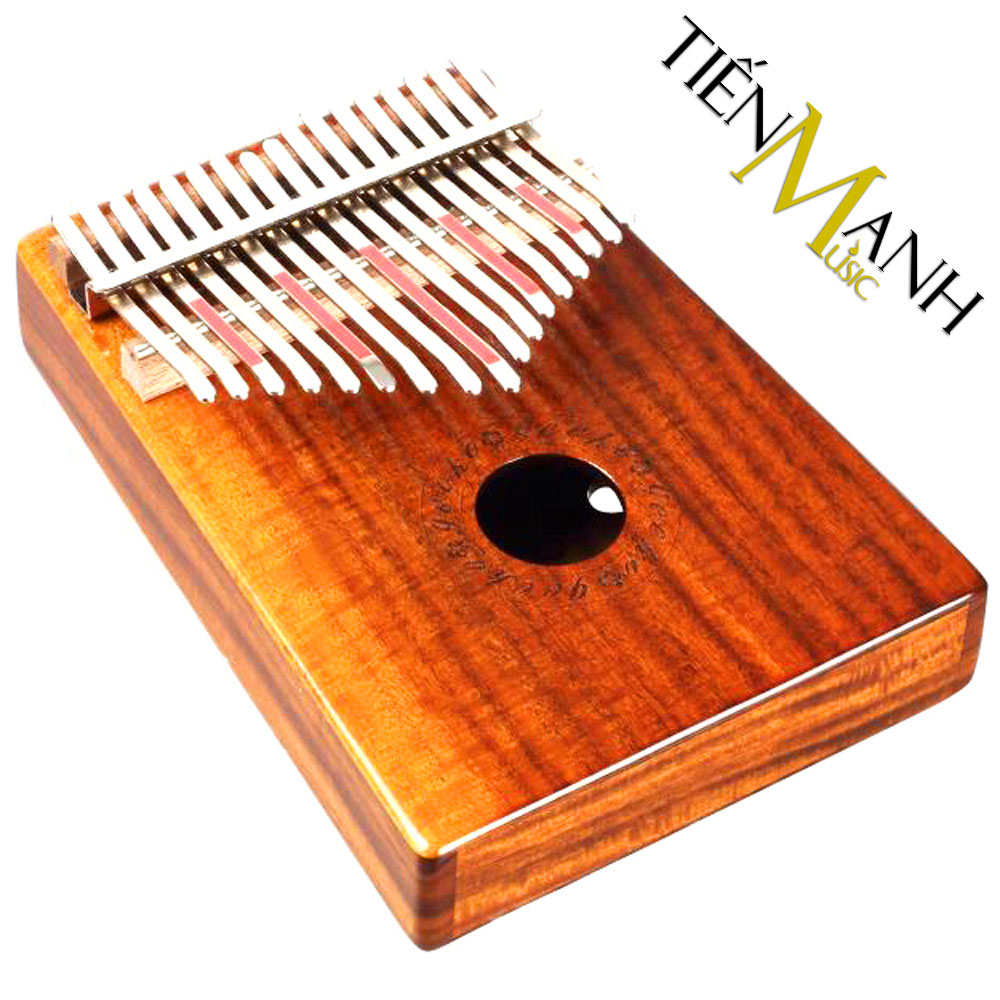 Đàn Kalimba Gecko 17 Phím K17K (Gỗ Koa - Mbira Thumb Finger Piano 17 Keys)