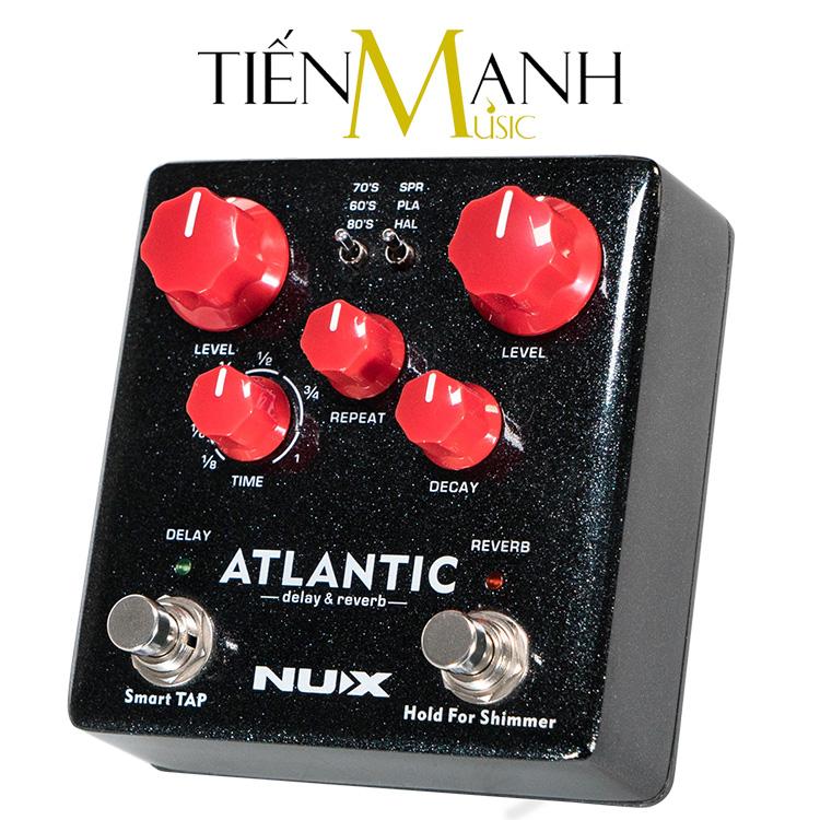 Phơ Guitar Nux NDR-5 Atlantic (Delay Reverb Pedal)