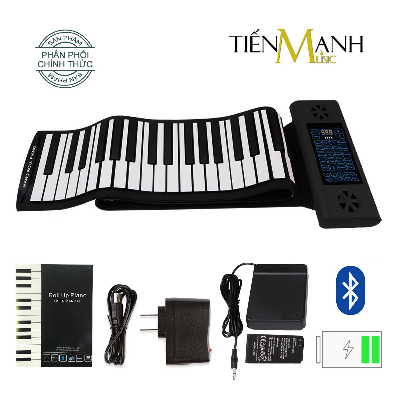 Đàn Piano 88 phím cuộn mềm dẻo Konix Flexible PS88 - Pin sạc 1700mAh