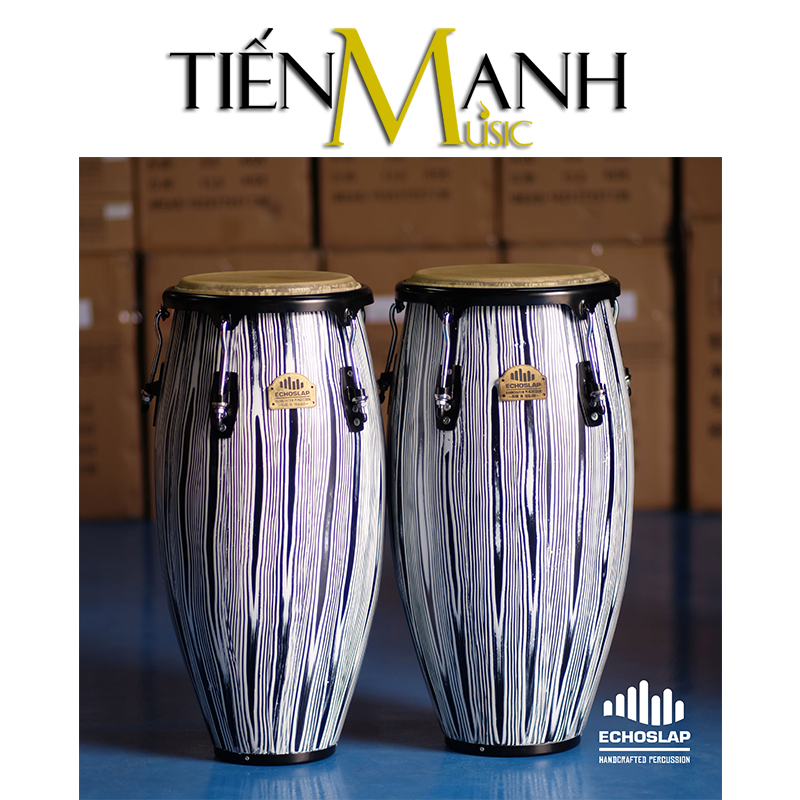 Trống Congas Echoslap CS1011-BW(DS)(Made In Thailand)
