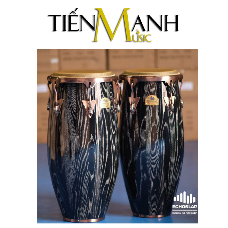 Trống Congas Echoslap CS12-AS(BS)(Made In Thailand)